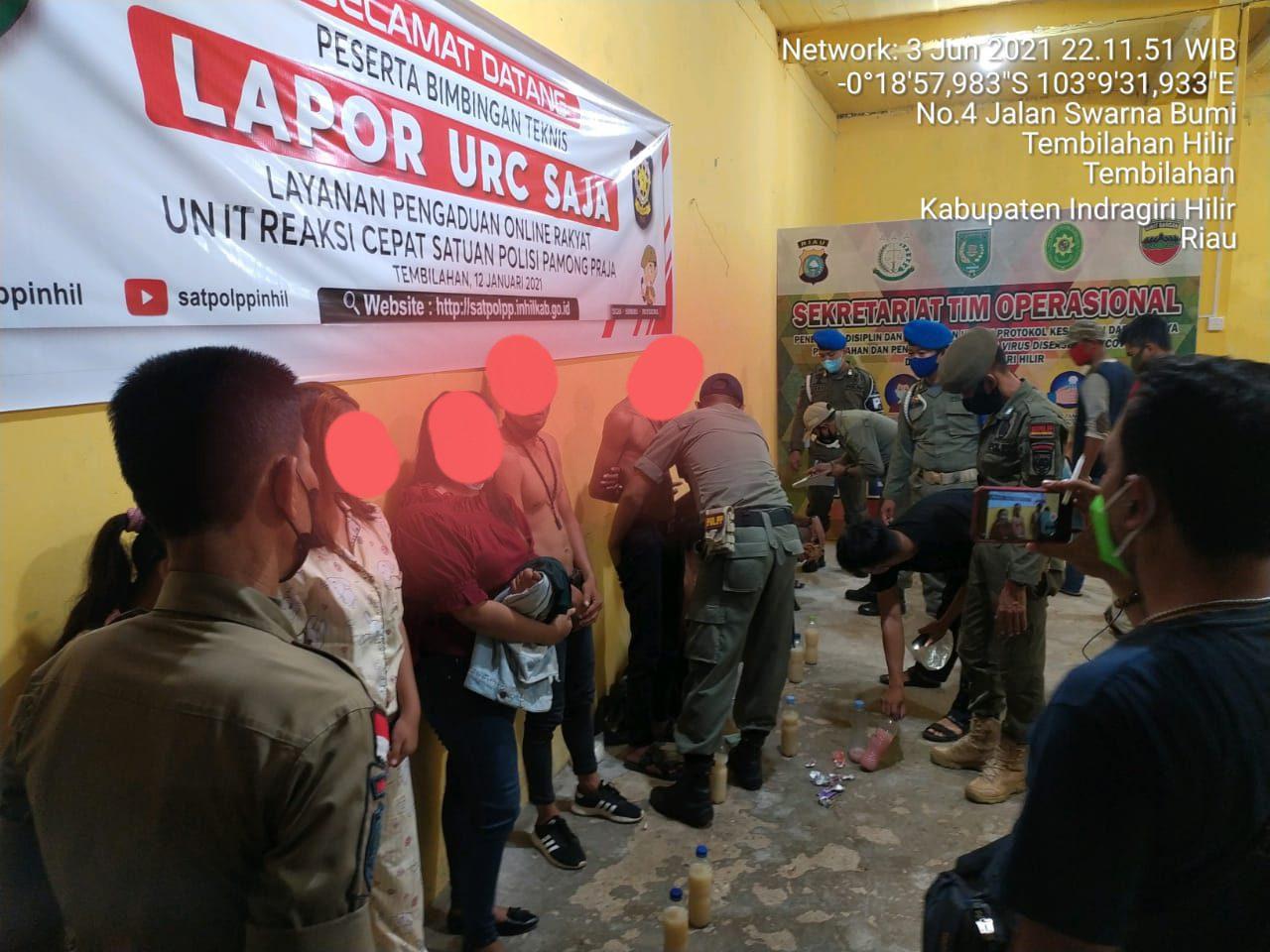 Tim URC SATPOL PP INHIL Kembali Tindak Pekat dari Laporan Masyarakat