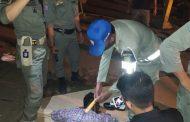 Muda - Mudi Diamankan Tim URC Satpol PP Inhil, Salah Satunya Membawa Sajam