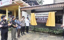 Wakil Bupati Inhil Resmikan Ruang Sekretariat Bersama PPNS Kab. Inhil